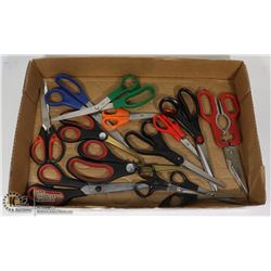 FLAT OF SCISSORS FOR VARIOUS USES