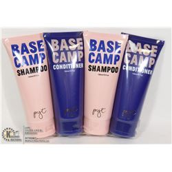 TWO BASE CAMP SHAMPOO AND TWO BASE CAMP CONDITIONER