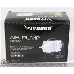 VIVOSUN 32W AIR PUMP FOR AQUARIUM AND