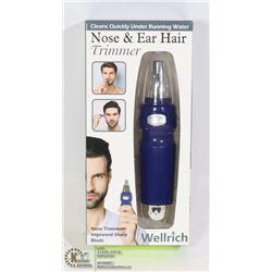 NEW MENS NOSE & EAR HAIR TRIMMER