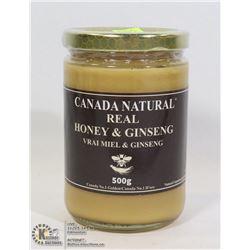 CANADIAN NATURAL REAL HONEY AND GINSENG