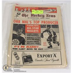 EARLY '70'S HOCKEY NEWS BUNDLE OF 10 MAGAZINES