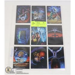 1994 LEE MACLEOD INSERT SET OF 10 FANTASY CARDS