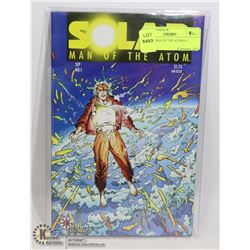 SOLAR MAN OF THE ATOM # 1 ORIGIN