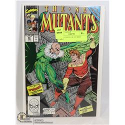 NEW MUTANTS # 86 1ST BRIEF CABLE