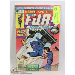 MARVEL SPOTLIGHT # 31 SGT. NICK FURY