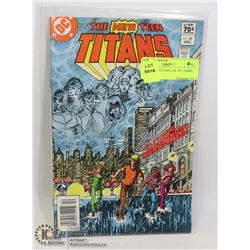 NEW TEEN TITANS # 26 1ST TERRA