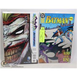 JOKER VS BATMAN 2 X COMICS