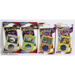 X4 POKEMON BLISTER PACK UNIFIED MINDS