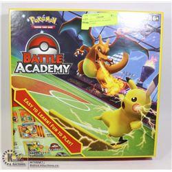 POKEMON BATTLE ACADEMY GAME, OPEN