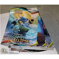 X3 LARGE POKEMON COLLECTORS POSTERS
