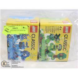 NEW SEALED LEGO CITY 60 & 52pc BOX SETS