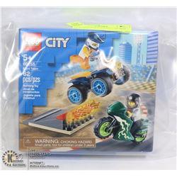 NEW SEALED LEGO CITY 62pc BOX SET