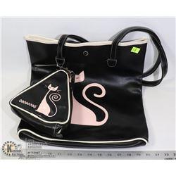 MATCHING CAT THEME WOMENS BAGS