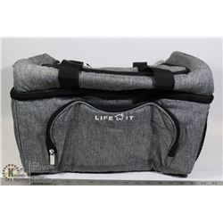 LARGE LIFEWIT INSULATED LUNCH BAG