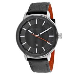 NEW ARMANI EXCHANGE GREY SUNRAY DIAL 43MM MSRP$215