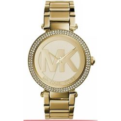 NEW MICHAEL KORS PARKER GOLD PLATED MSRP $335