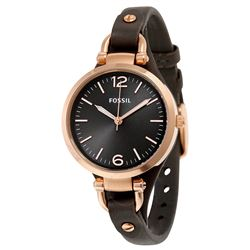 NEW FOSSIL WATCH W/ BROWN LEATHER BAND