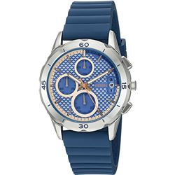 NEW FOSSIL TRIPLE CHRONO SILICONE BAND MSRP $219
