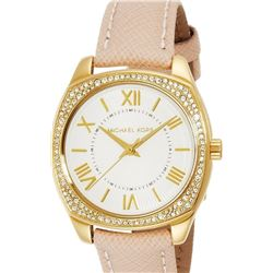 NEW MICHAEL KORS 33MM WHITE DIAL WATCH MSRP $299