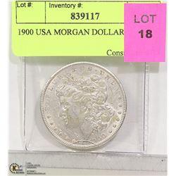 1900 USA MORGAN DOLLAR