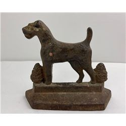 PAL Airedale Terrier Connecticut Foundry Bookend
