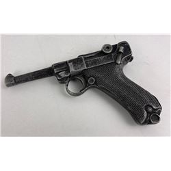 Cast Aluminum Luger Training Pistol Toy