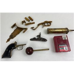 Blackpowder Rendezvous Rifle Pistol Parts CVA