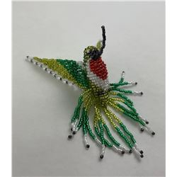 Montana Blackfoot Indian Beaded Hummingbird