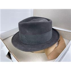 Royal Stetson Whippet Fedora Hat Size 7 w/ Box