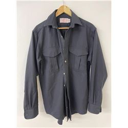 Filson Wool Long Sleeve Shirt Black Size M