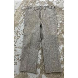 Filson USA Grey Wool Size 36 Mackinaw Pants