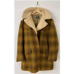 Beautiful Pendleton USA Wool Sherpa Jacket Coat