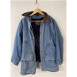 Woolrich USA Wool Lined Denim Jacket Size M