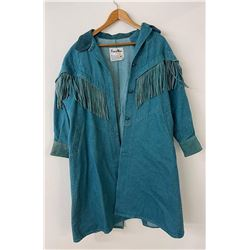 Pioneer Wear USA Sz S Western Ladies Fringed Coat