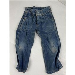 1940's Levis Denim Button Fly Kids Size Jeans