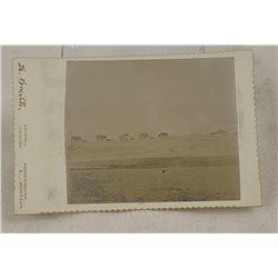 Fort Assiniboine Montana Cabinet Card Photograph