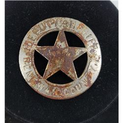 Idaho Deputy Sheriff Star Police Badge Benewah
