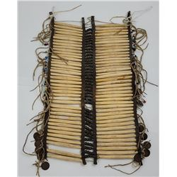 Antique Plains Indian Hair Pipe Breastplate