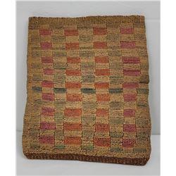 Antique Nez Perce Woven Corn Husk Bag
