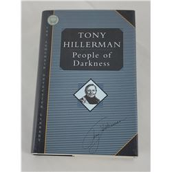 Tony Hillerman People of Darkness Signed 1st Ed 80