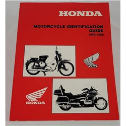 Honda Motorcycle Identification Guide 1959-199