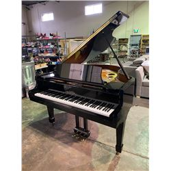 SAMICK SG-172 BABY GRAND PIANO SERIAL #IKGEO 298 WITH STOOL