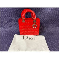 DESIGNER PURSE WITH DUST BAG (AUTHENTICITY UNKNOWN)