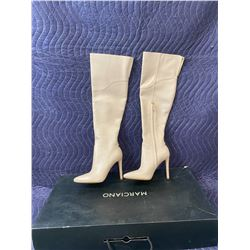 MARCIANO NUDE BOOTS SIZE 6M IN BOX