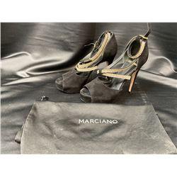 MARCIANO HEELS SIZE 6.5 IN DUST BAG