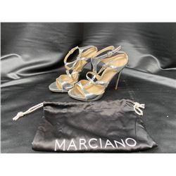 MARCIANO HEELS SIZE 6 IN DUST BAG