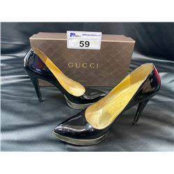 GUCCI HEELS SIZE 7 IN BOX