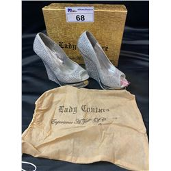 LADY COUTURE SIZE 5.5 WEDGES IN BOX