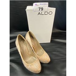 ALDO HEELS (DAMAGED)SIZE 6.5 IN BOX
